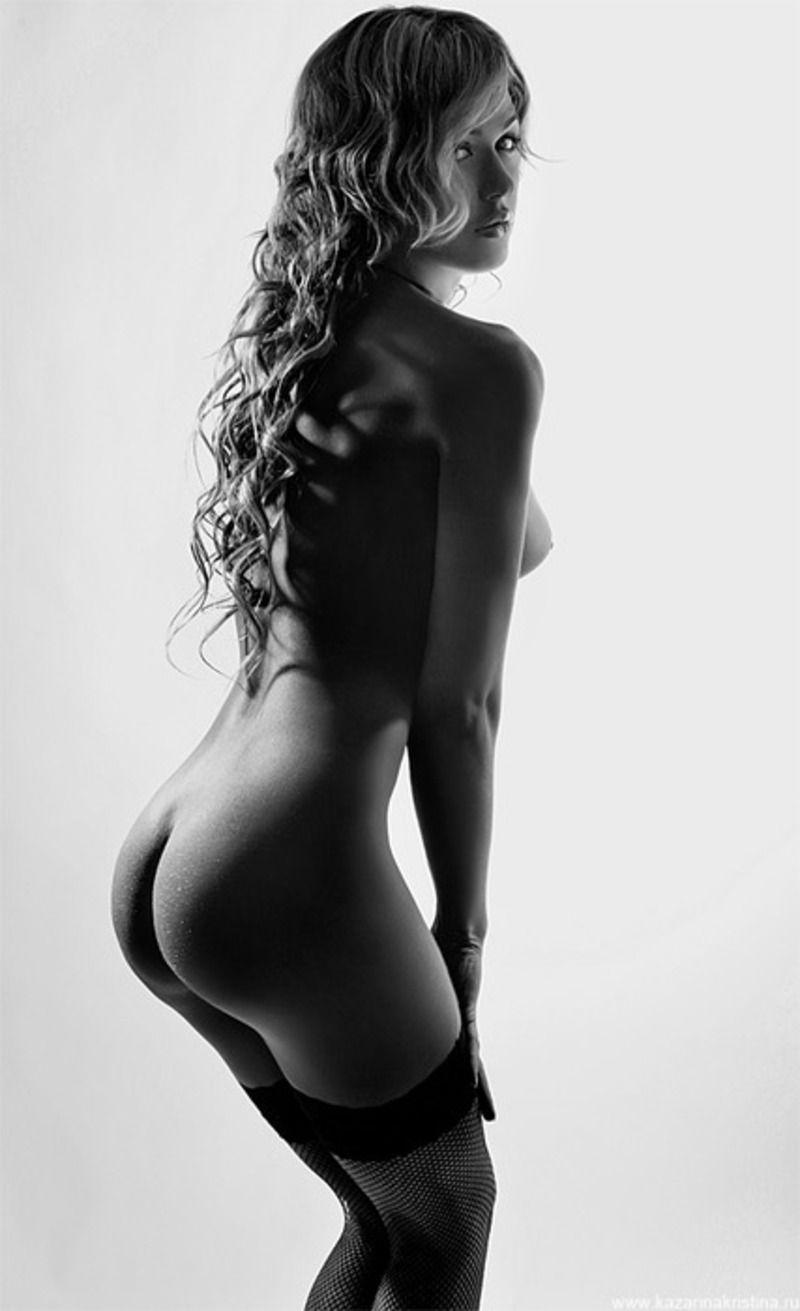 Черно белая эротика блондинки 11 фотография